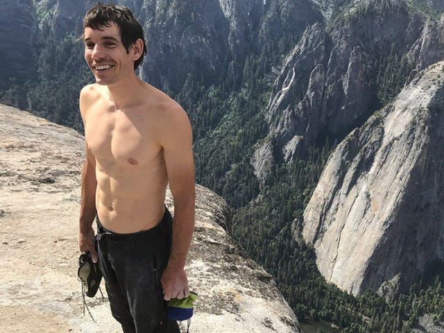 In Free Solo, thrilling climb footage fights for time with pat psychologizing