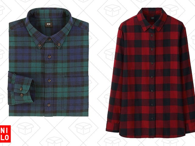 Flannel Season is Upon Us, So Uniqlo Is Marking Them All Down To Just $25