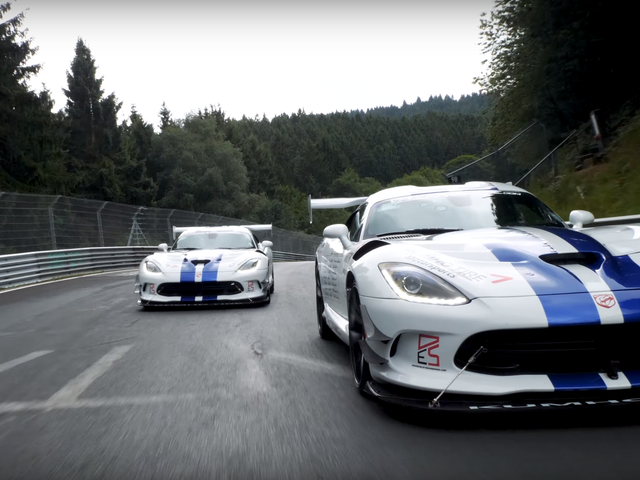 The Story Behind That Crowdfunded 7:01.3 Dodge Viper ACR Nürburgring Lap Record