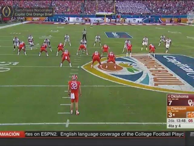 Clemson Fake Punt inställer Go-Ahead Touchdown