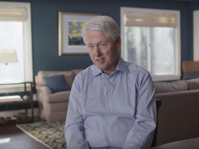 Bill Clinton a eu une affaire pour «gérer [son] anxiété»