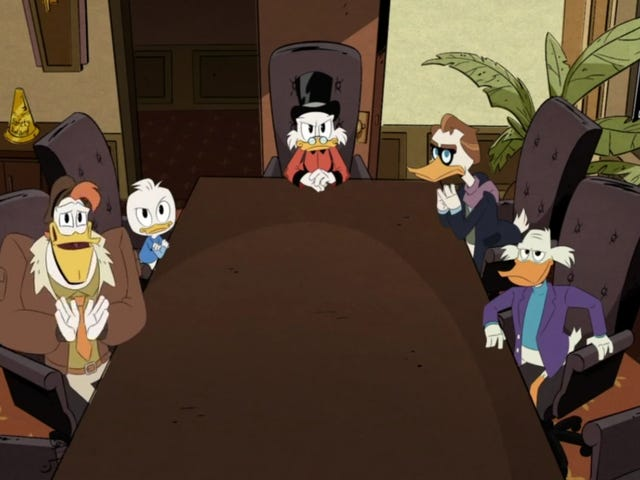 """DuckTales-pommi päättyy Darkwing Duckin """"kuolemaan"""" ja """"syntymään"""""""