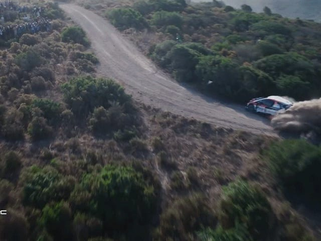 Rally Footage Worth Losing A Drone Over