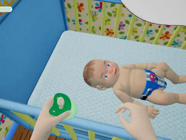A Weird Game About Raising A Baby
