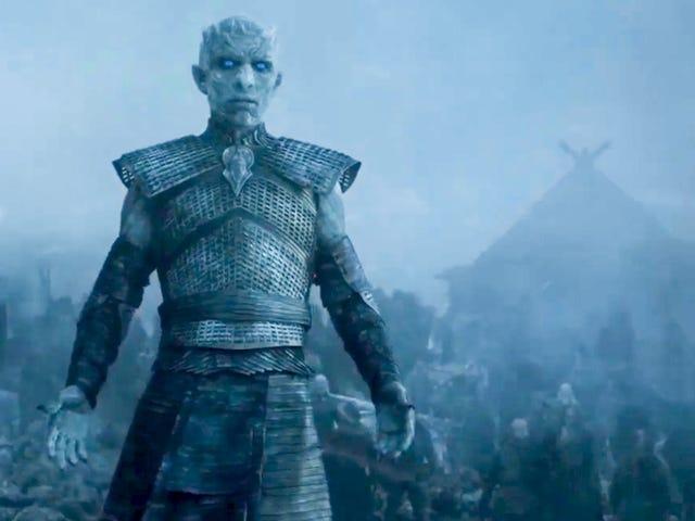 Der Führer der Schwarzen Person zum <i>Game of Thrones</i>