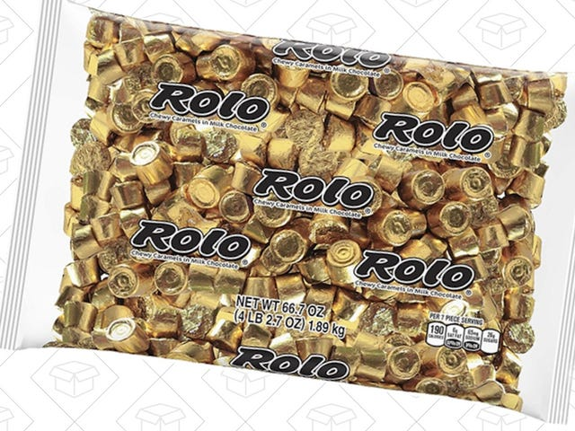 Snack On 4 Pounds of Rolo Chocolate Caramels For $16