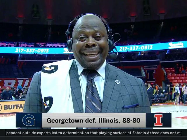 """Patrick Ewing Said """"Nuts"""" On National TV And Giggled"""