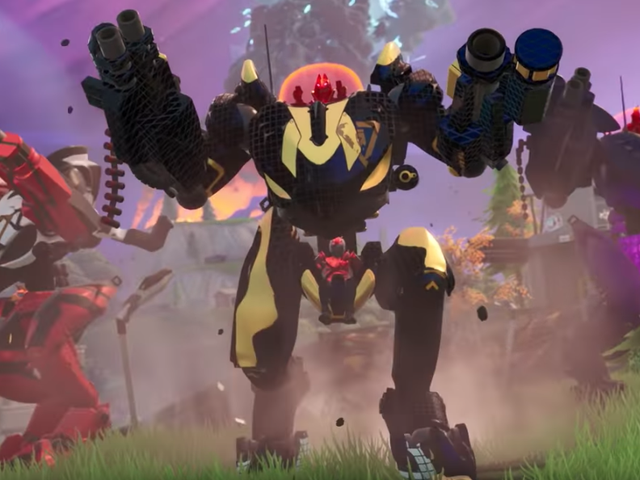 Fortnite's Unpopular Mechs Will Stay In Competitive Play [Updated]
