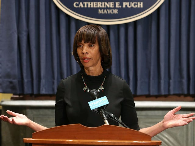 Baltimore Mayor Catherine Pugh Books Out the Door, Abandons City Hall Post