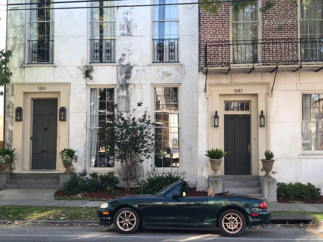 Saya suka berjalan New Orleans