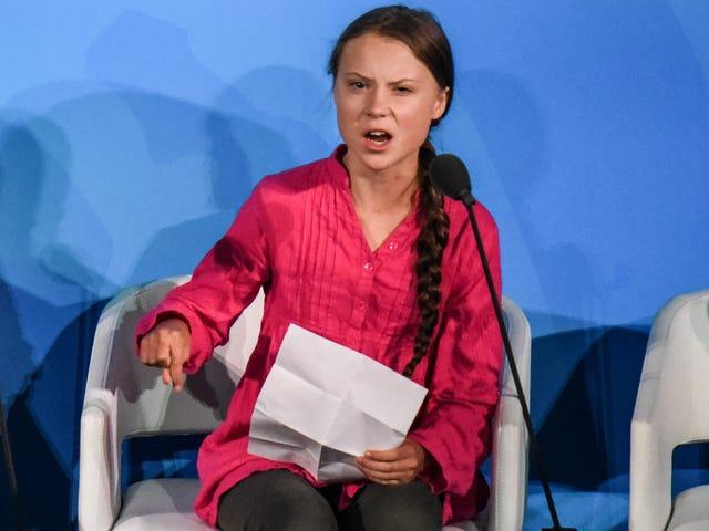 Greta Thunberg n'est pas votre mascotte