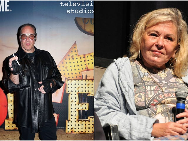 Roseanne Barr and Andrew Dice Clay are touring together, answering nobody's prayers