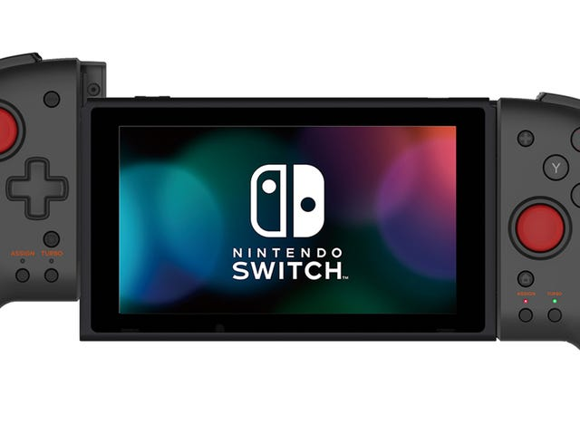 Hori's Grip Controller Turns The Switch Into An Absolute Unit [Update]