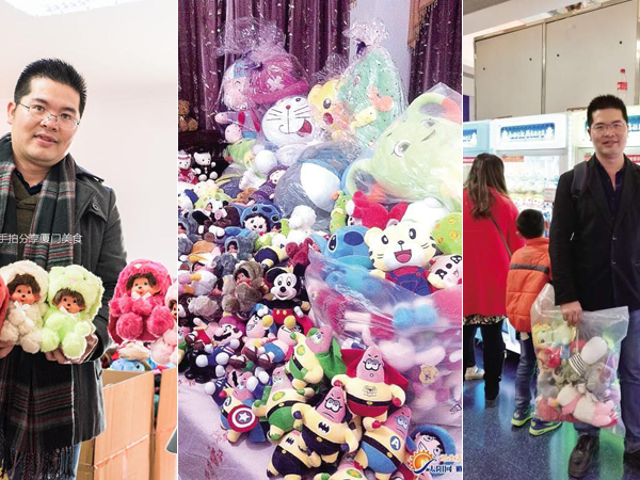 'Trò chơi vuốt chúa' Snags hơn 3.000 đồ chơi sang trọng trong sáu tháng