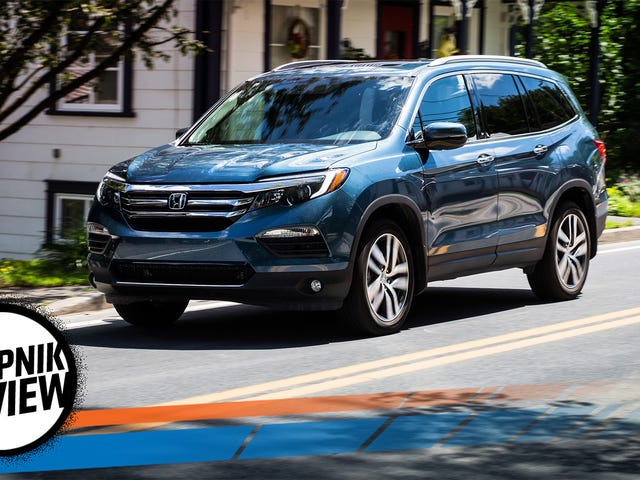 The 2017 Honda Pilot Is For When You Just Can't Buy The Damn Minivan