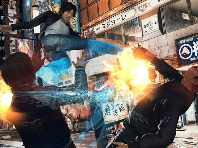 Judge Eyes (Ryu Ga Gotoku Studio) announced for PlayStation 4 in Japan. Western release also planned.