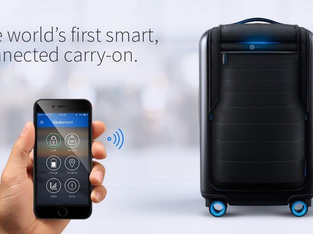 El Smartest Carry-On que usted ha visto nunca está de vuelta en venta