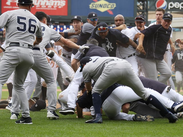 My Five Favorite Moments From The Yankees-Tigers Brawl