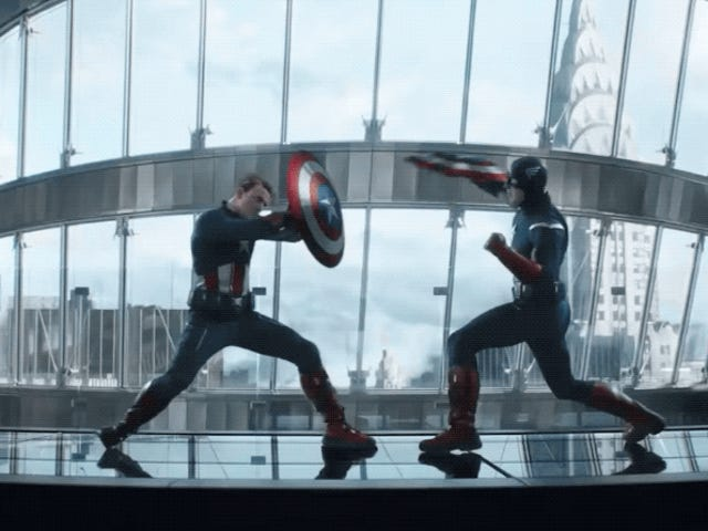 Así se creó la batalla del Capitán América versus Capitán América en Avengers: Endgame