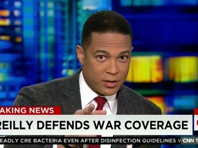 """Το Don Lemon του CNN λέει ότι ο """"καμαροσκέπαστος"""" είναι ανοικτός, προσφέρουν μεγάλη συγγνώμη"""
