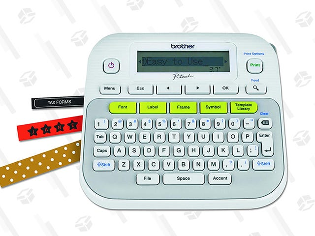 Get Your Life in Order With This $20 Brother Label Maker