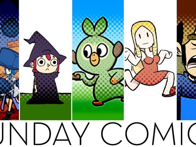 Sunday Comics: ¡SALTA!