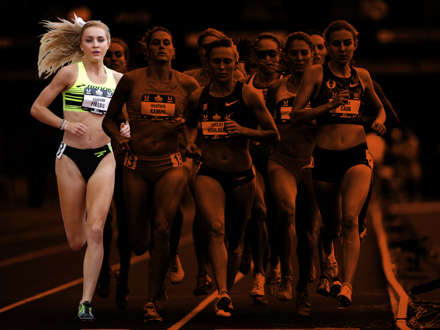 How Up-And-Coming Runner Hannah Fields Found Her Groove