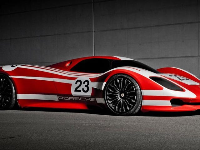 The Porsche 917 Concept Is Its Most Stunning Modern Tribute to a Le Mans-Winning Race Car
