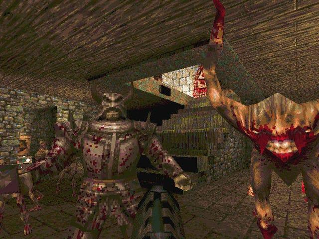 <i>Quake</i>のクリエイターはマルチプレイヤー専用マップを発明した人に同意できない