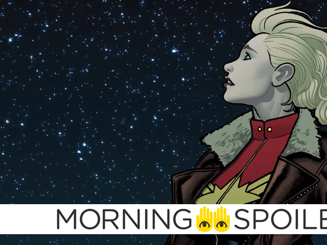 More Rumors About the Identity of Captain Marvel's Cosmic Villain