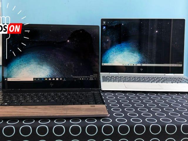 Es bastante chocante que la compañía que más esté innovando en el diseño de portátiles ahora mismo mar HP