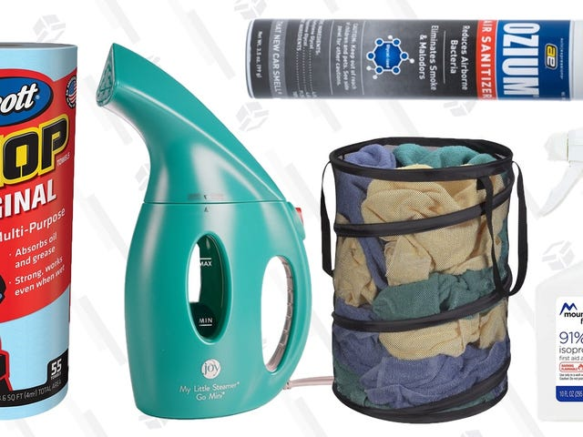 The Five Best Cleaning Products for Dorm Rooms