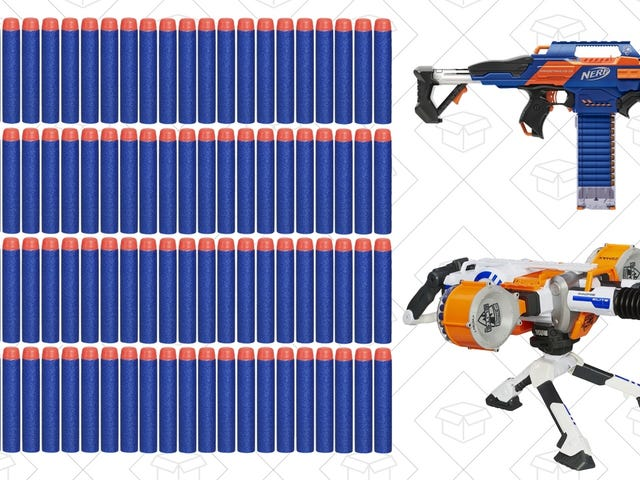 Go Hog Wild With Amazon's Cyber Monday Nerf Gun Sale, Plus More Hasbro Toy Deals