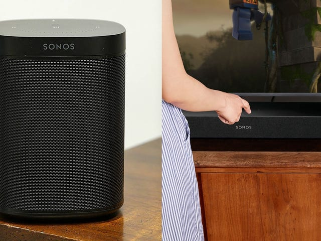 Start (or Expand) Your Sonos Collection Starting at $119 For Cyber Monday
