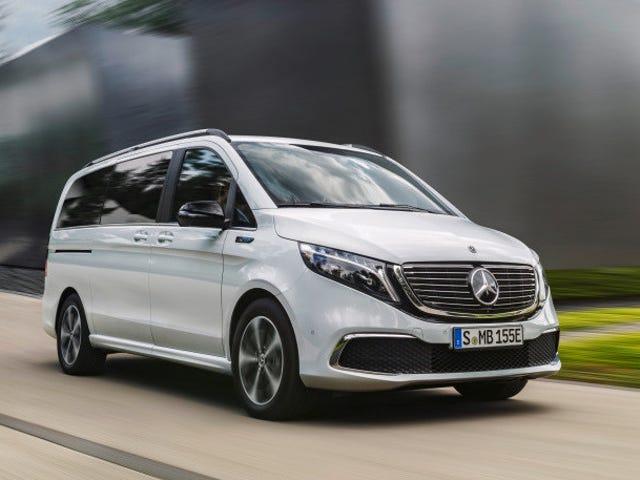 Der Mercedes-Benz EQV 2020 schlägt Tesla und Volkswagen beim E-Van-Spiel