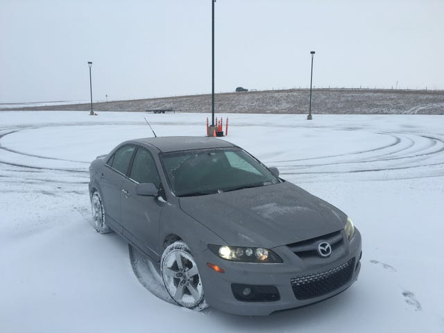 I am happy to report that the Mazdaspeed 6 does real good snonuts