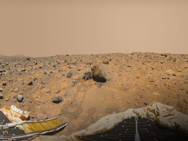 In 1997 landde de Pathfinder Mission van de NASA onbewust nabij de oevers van een oude Marszee