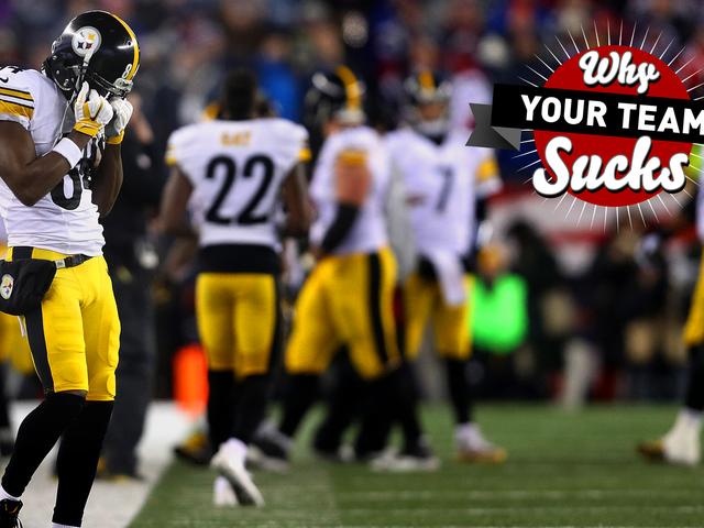 Takımınız Neden Sucks 2017: Pittsburgh Steelers <em></em>