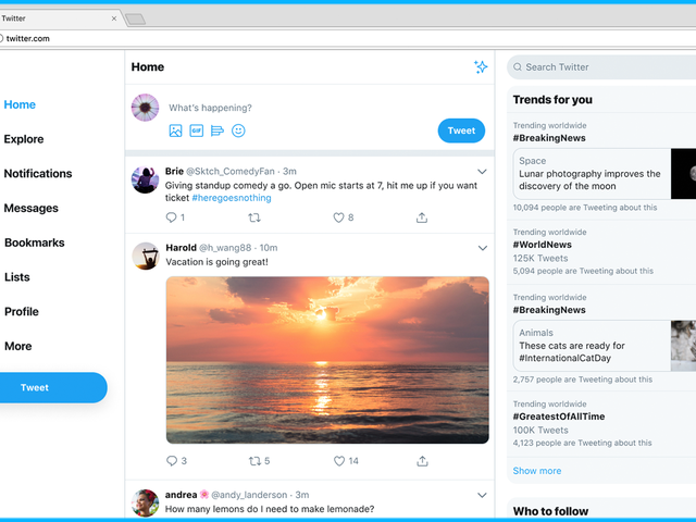 Twitter Finally Redesigned Its Website, Said No One