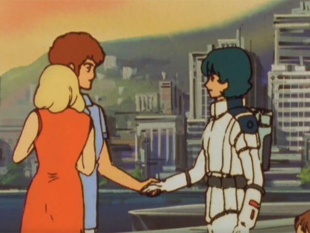 О Боже, это рукопожатие Gundam мучительно