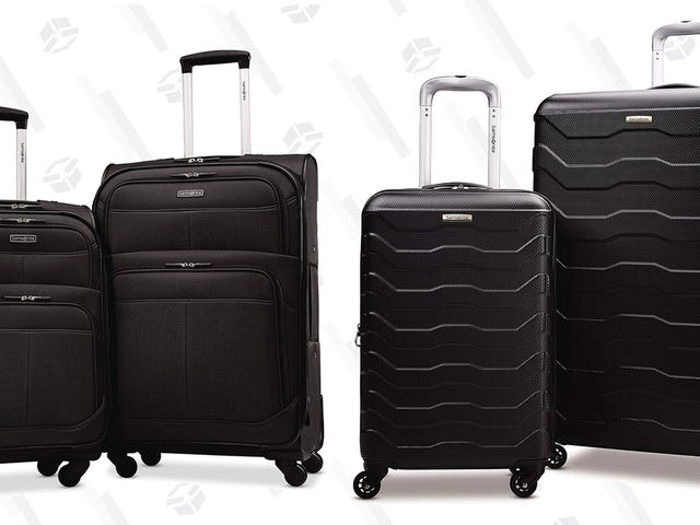 Score Hundreds Of Dollars In Savings On These Samsonite Suitcase Sets
