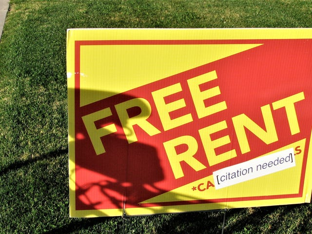 """What You Should Know About Those """"One Month Free Rent"""" Deals"""