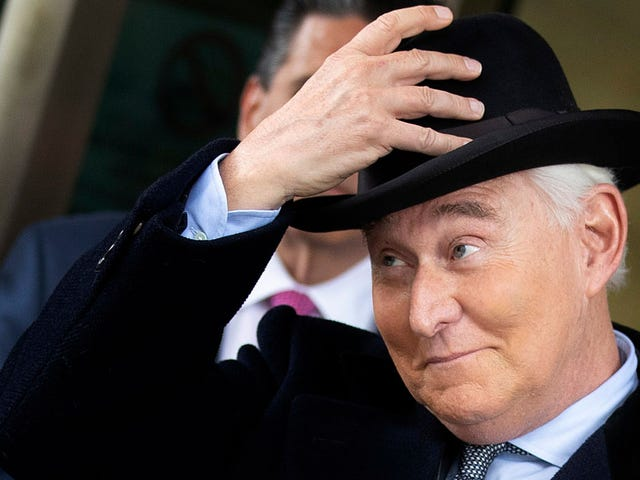 Trump's Tweets Worked: Roger Stone Sentenced to 40 Months in Prison
