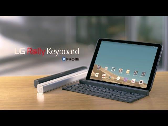 Jeg har brug for LGs foldbare tastatur i mit liv