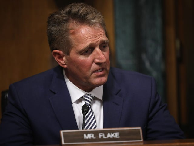 Jeff Flake Continues His Legacy of Being the Flakiest Senator on Capitol Hill; Will Vote Yes on Brett Kavanaugh