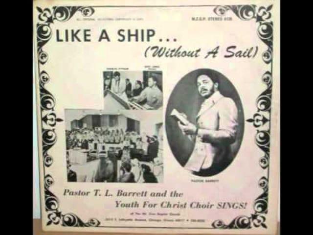 """""""Kuten laiva (ilman purjehtia)"""" - Pastori TL Barrett ja Nuorten Kristus-kuoro (1971)"""