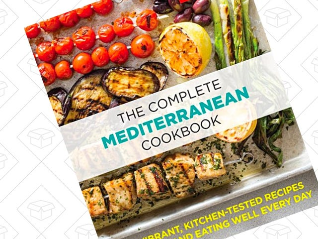 Pick Up 500 Kitchen-Tested Mediterranean Recipes For Just $5
