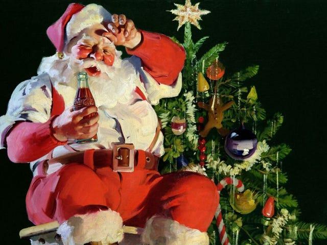 Den fantastiske historie om et krigsår, der endte med, at millioner af børn troede på julemanden