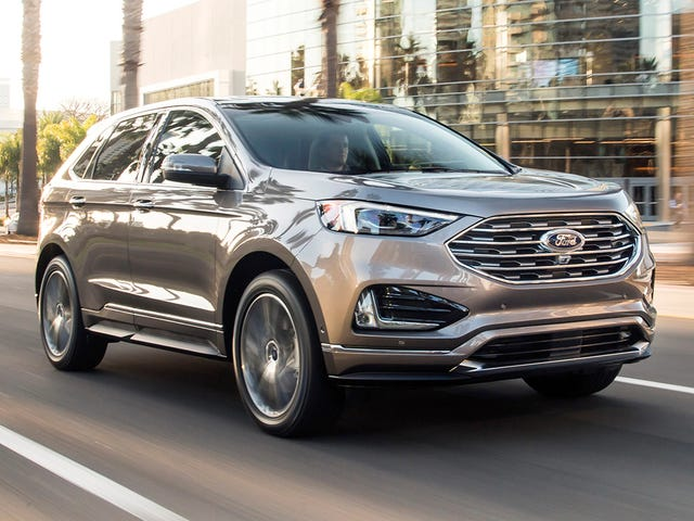 Ford announces a 2019 Edge Titanium Elite, because screw Lincoln