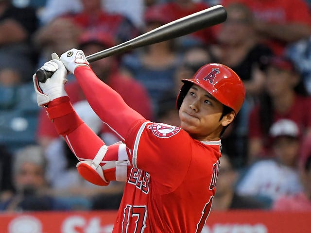 Shohei Ohtani Will Throw Again Soon, And He's Still Smacking Big Dingers While He Waits